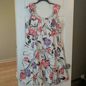 Sleeveless Floral Dress WITH POCKETS!😍